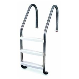 In-Ground Stainless Steel Ladder